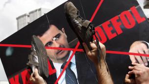 Unjuk rasa di Suriah