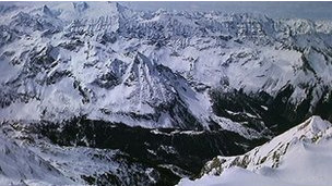 Pegunungan Alpen di Austria